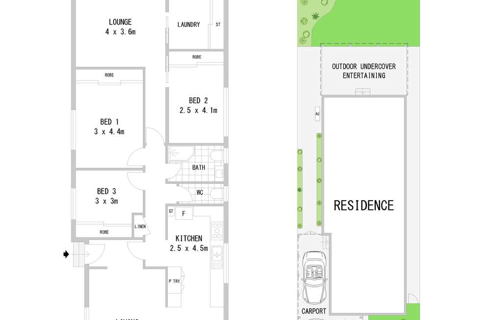 Floorplan of Homely house listing, 58 Beatrice Street, Bass Hill NSW 2197