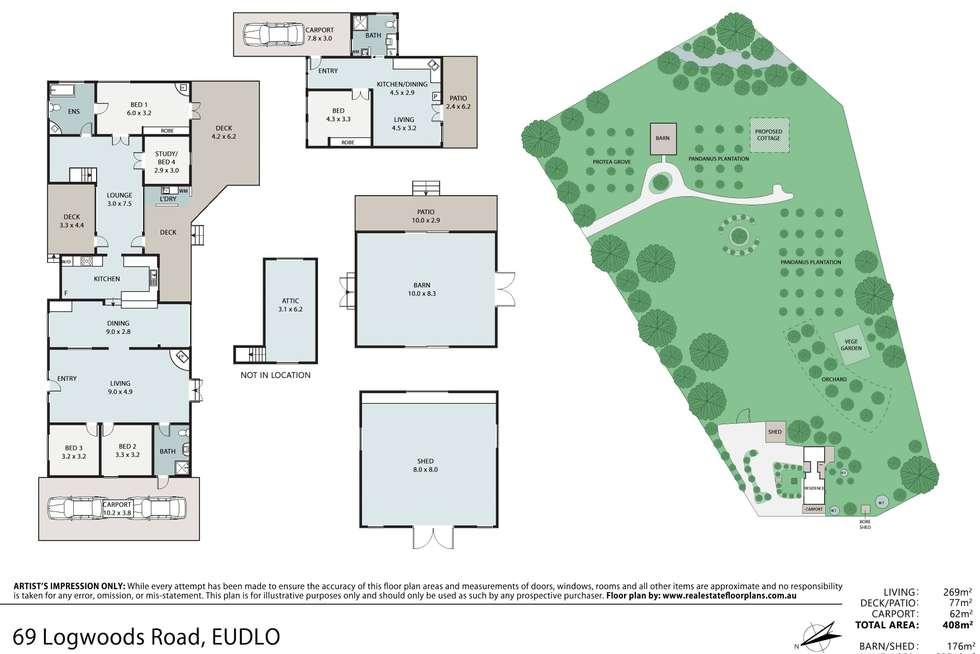 Floorplan of Homely ruralOther listing, 69 Logwoods Road, Eudlo QLD 4554