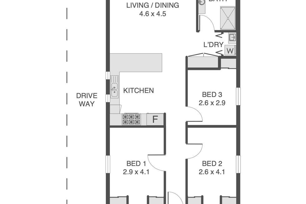 Floorplan of Homely house listing, 19 Cricket Street, Petrie Terrace QLD 4000