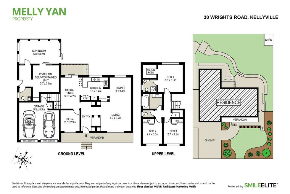 Floorplan of Homely house listing, 30 Wrights Road, Kellyville NSW 2155