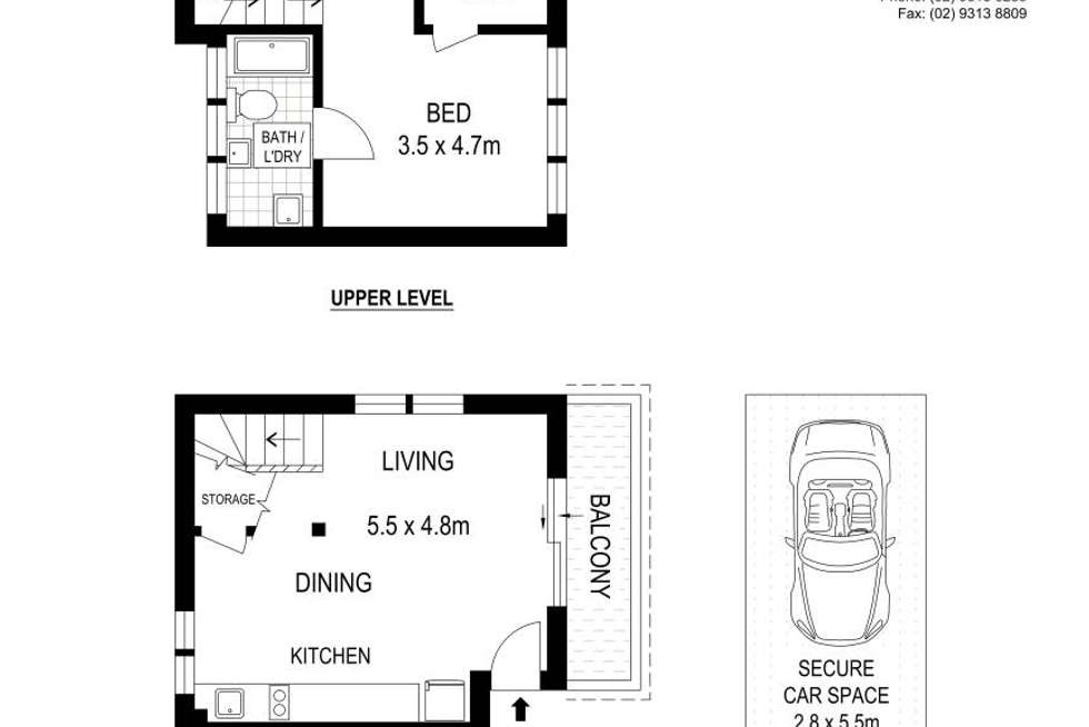 Floorplan of Homely apartment listing, 8/37 Midway Drive, Maroubra NSW 2035