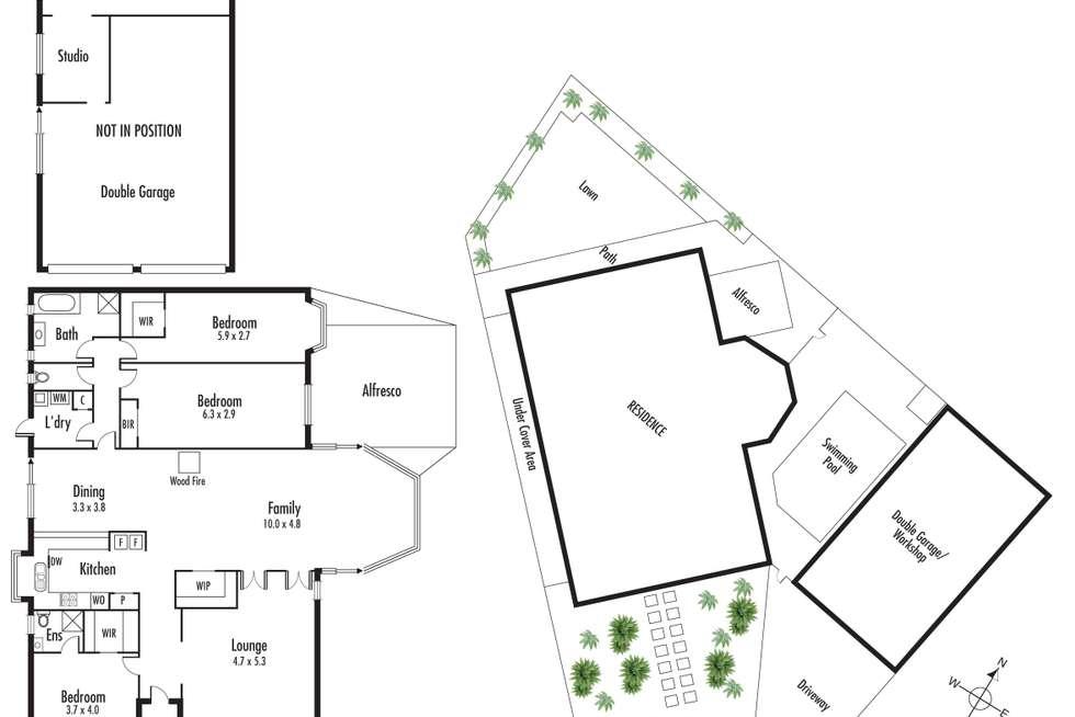 Floorplan of Homely house listing, 34 Elmsford Court, Keysborough VIC 3173