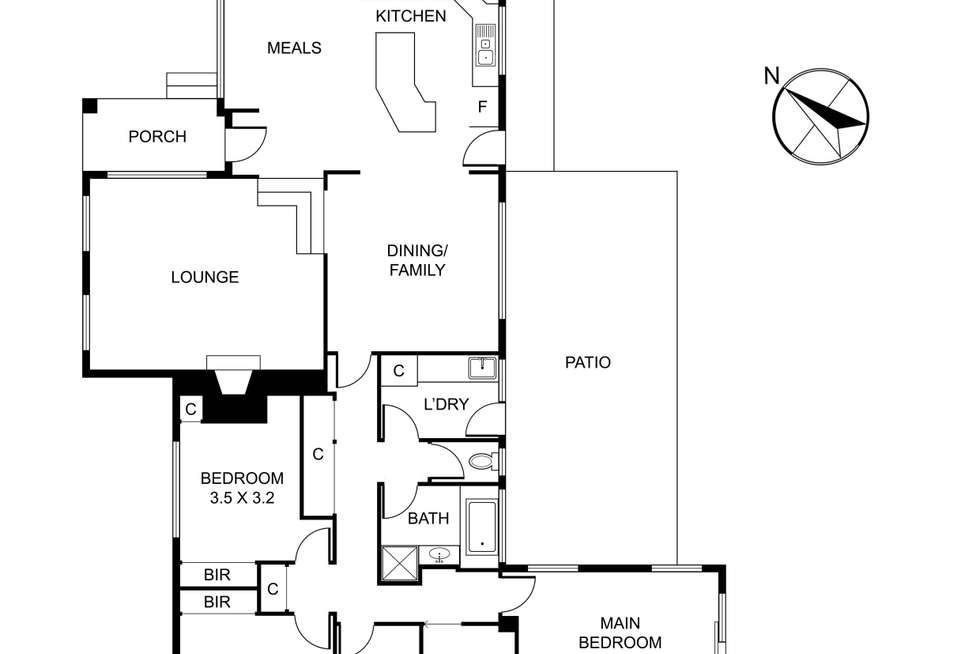 Floorplan of Homely house listing, 9 Mt Morton Road, Belgrave South VIC 3160