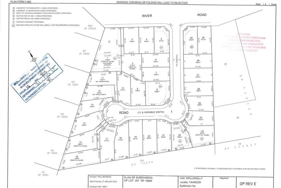 Floorplan of Homely house listing, 18 Dillies Lane, Tahmoor NSW 2573
