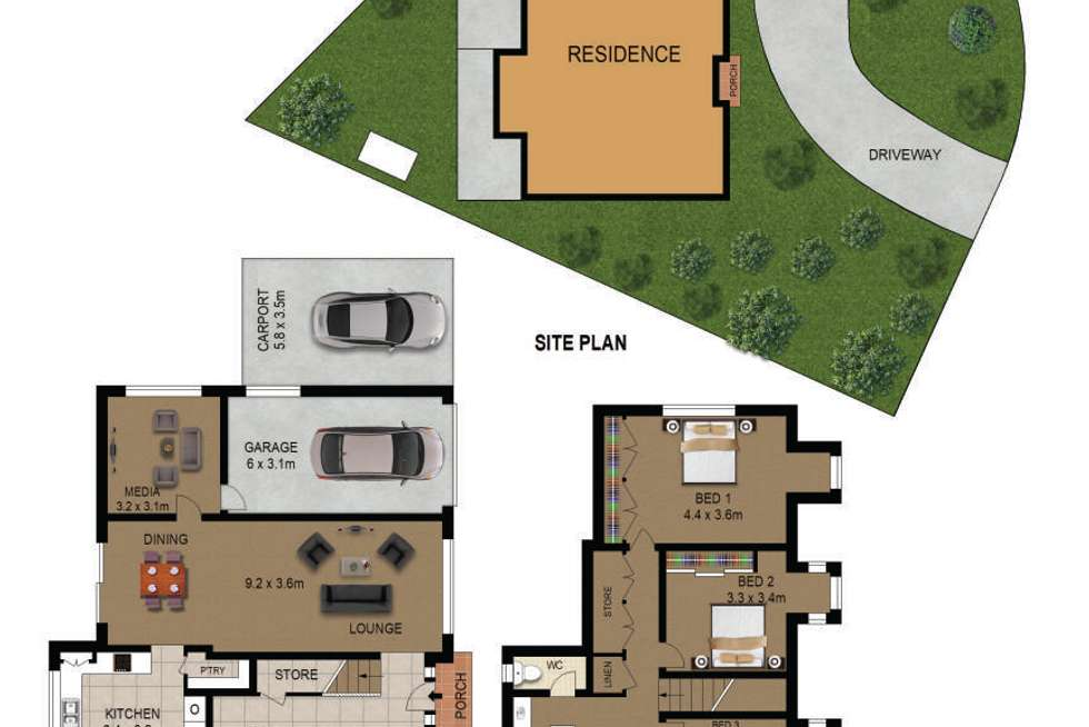 Floorplan of Homely house listing, 56 Windermere Avenue, Northmead NSW 2152