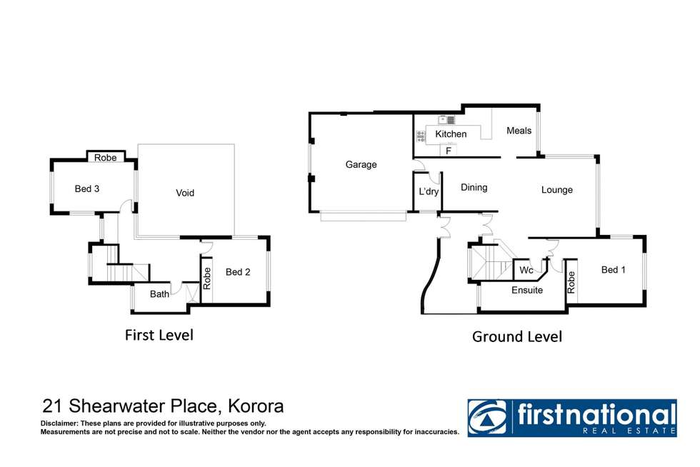 Floorplan of Homely house listing, 21 Shearwater Place, Korora NSW 2450