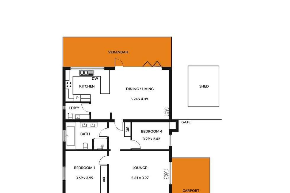 Floorplan of Homely house listing, 82 West Parkway, Colonel Light Gardens SA 5041