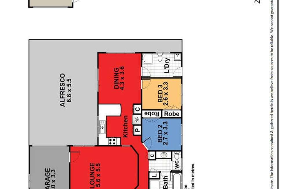 Floorplan of Homely house listing, 26 Karne Street, Sanctuary Point NSW 2540