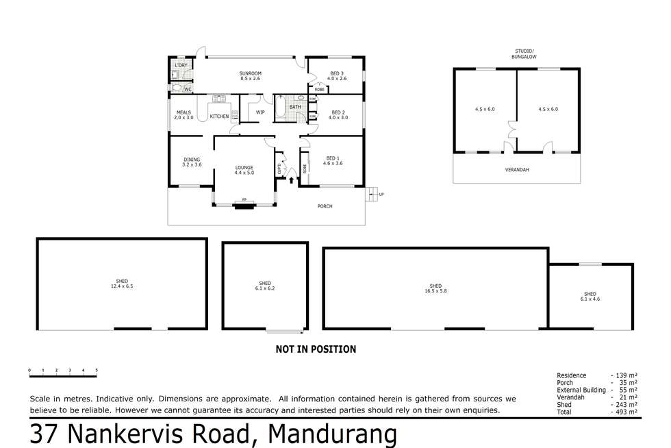 Floorplan of Homely house listing, 37 Nankervis Road, Mandurang VIC 3551
