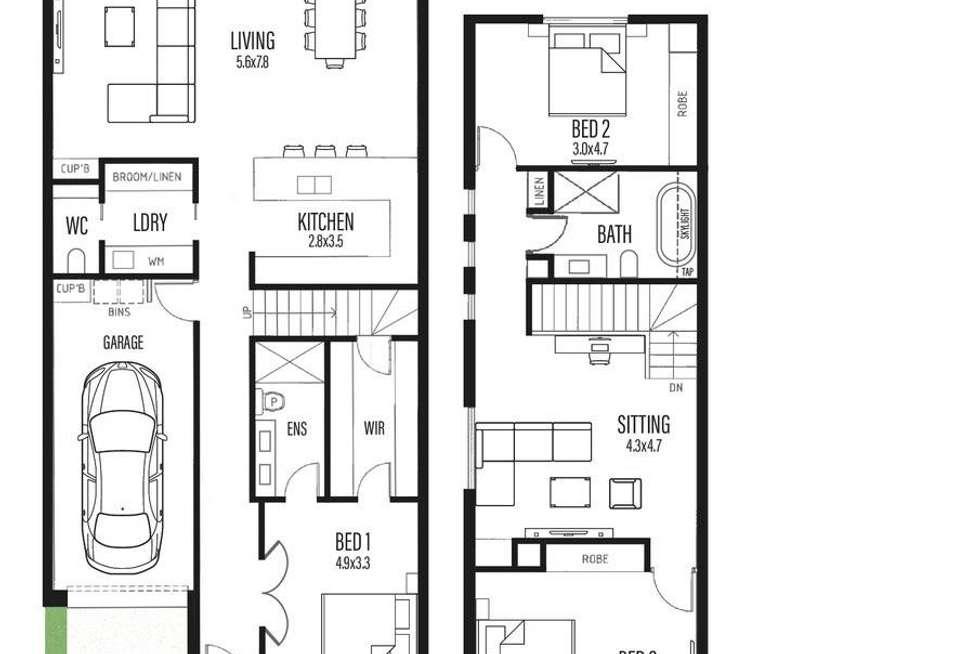 Floorplan of Homely house listing, 3 Muller Street, Norwood SA 5067