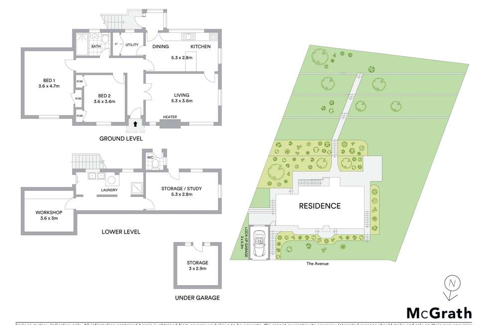 Floorplan of Homely house listing, 49 The Avenue, Mount Saint Thomas NSW 2500