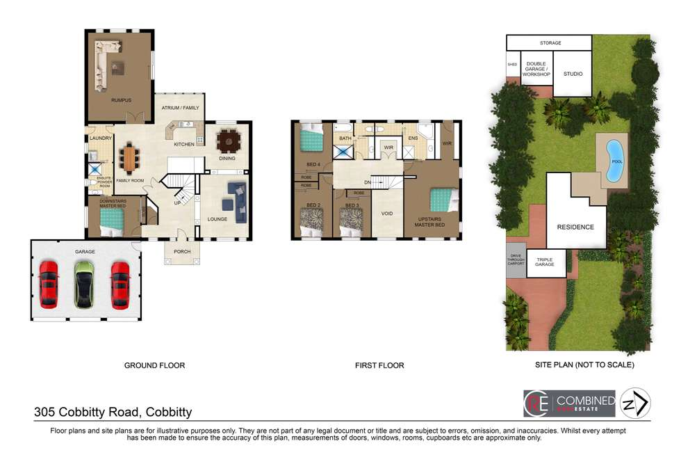 Floorplan of Homely house listing, 305 Cobbitty Road, Cobbitty NSW 2570