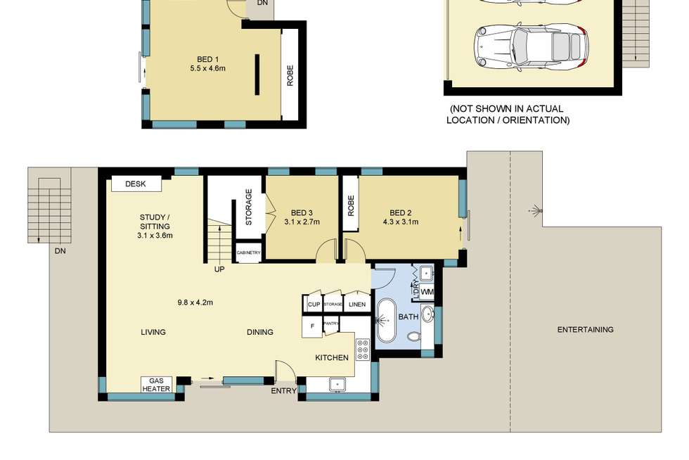 Floorplan of Homely house listing, 400 Lawrence Hargrave Drive, Scarborough NSW 2515