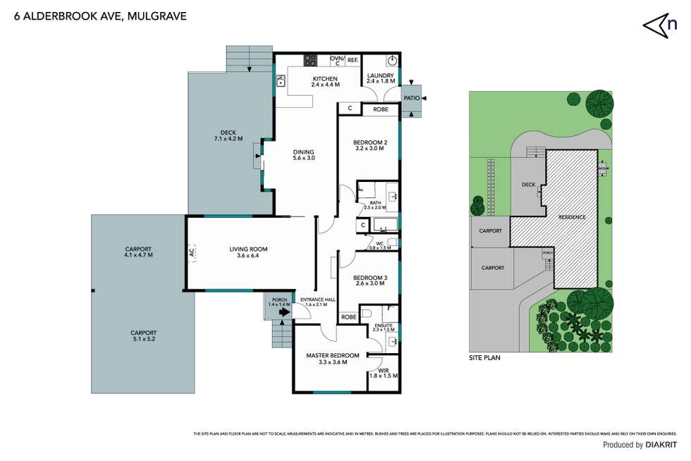 Floorplan of Homely house listing, 6 Alderbrook Avenue, Mulgrave VIC 3170