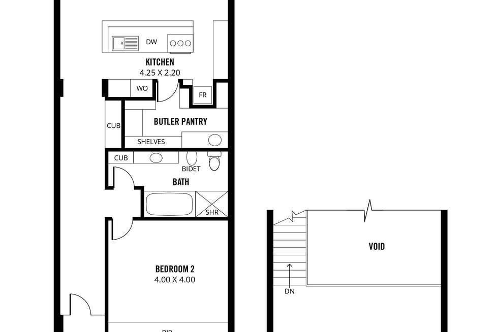 Floorplan of Homely house listing, 22 Albert Street, Adelaide SA 5000