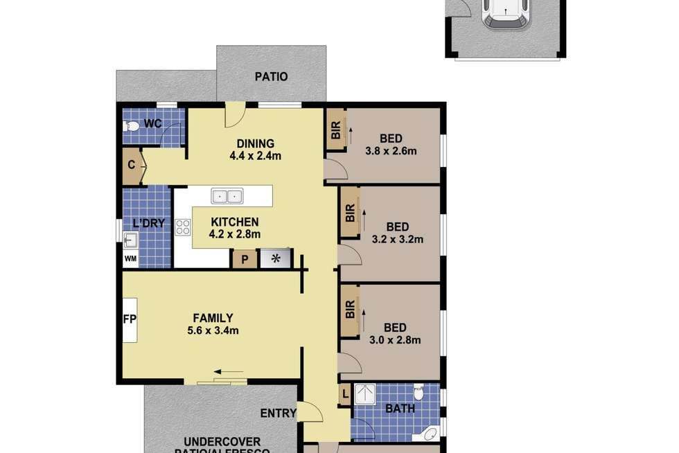 Floorplan of Homely house listing, 318 Excelsior Street, Guildford NSW 2161