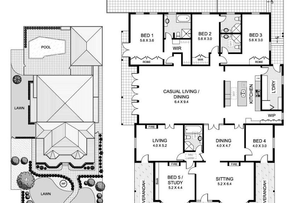 Floorplan of Homely house listing, 29 Woolwich Road, Hunters Hill NSW 2110