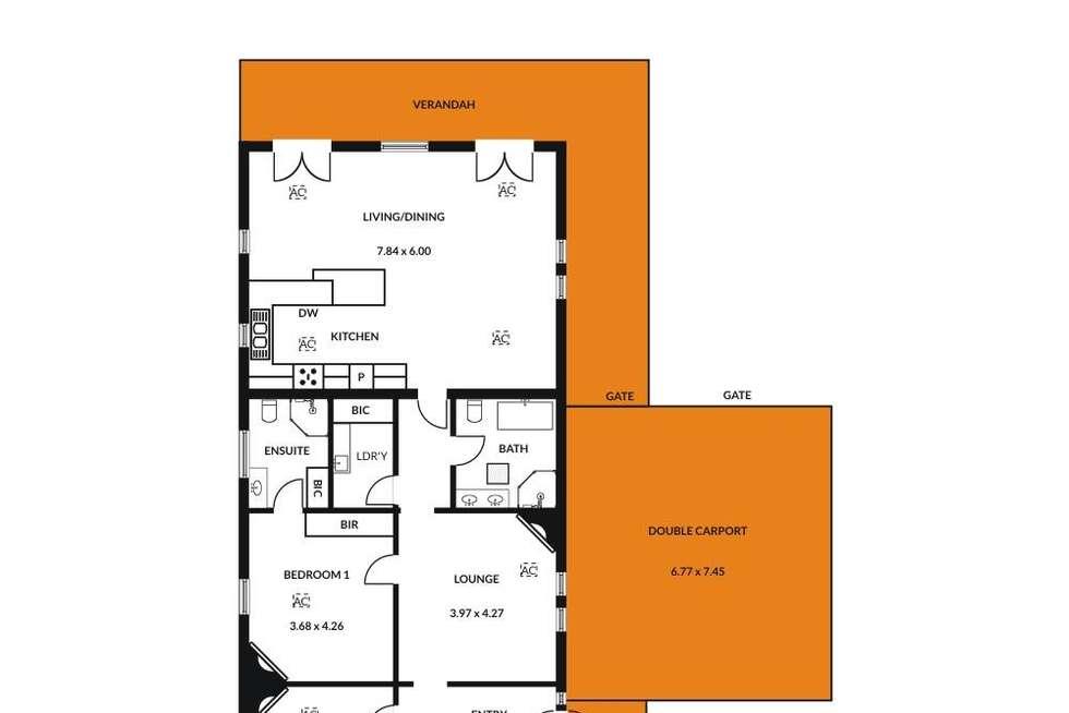 Floorplan of Homely house listing, 4 Richmond Avenue, Colonel Light Gardens SA 5041