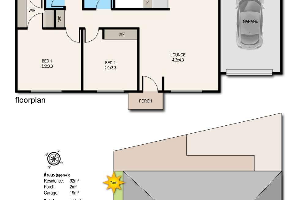 Floorplan of Homely unit listing, 14/15-21 Potts Road, Langwarrin VIC 3910