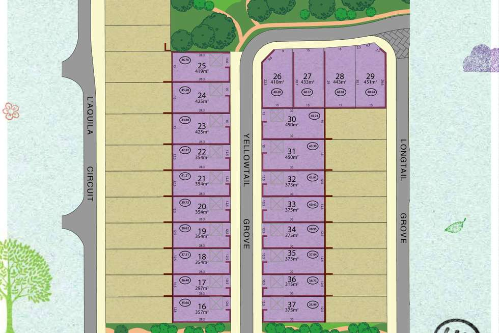Floorplan of Homely residentialLand listing, LOT 32/28 Yellowtail Grove, Beeliar WA 6164