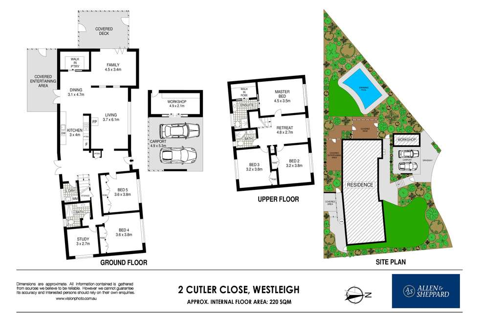 Floorplan of Homely house listing, 2 Cutler Close, Westleigh NSW 2120