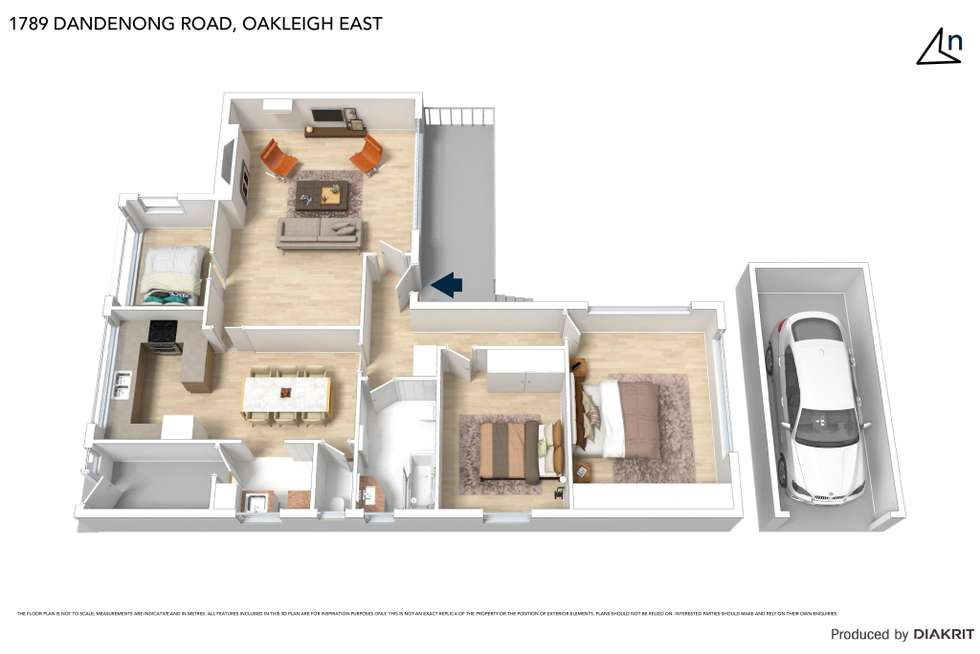 Floorplan of Homely house listing, 1789 Dandenong Road, Oakleigh East VIC 3166
