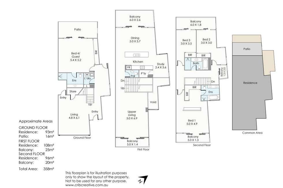 Floorplan of Homely house listing, 42 The Circus, Burswood WA 6100