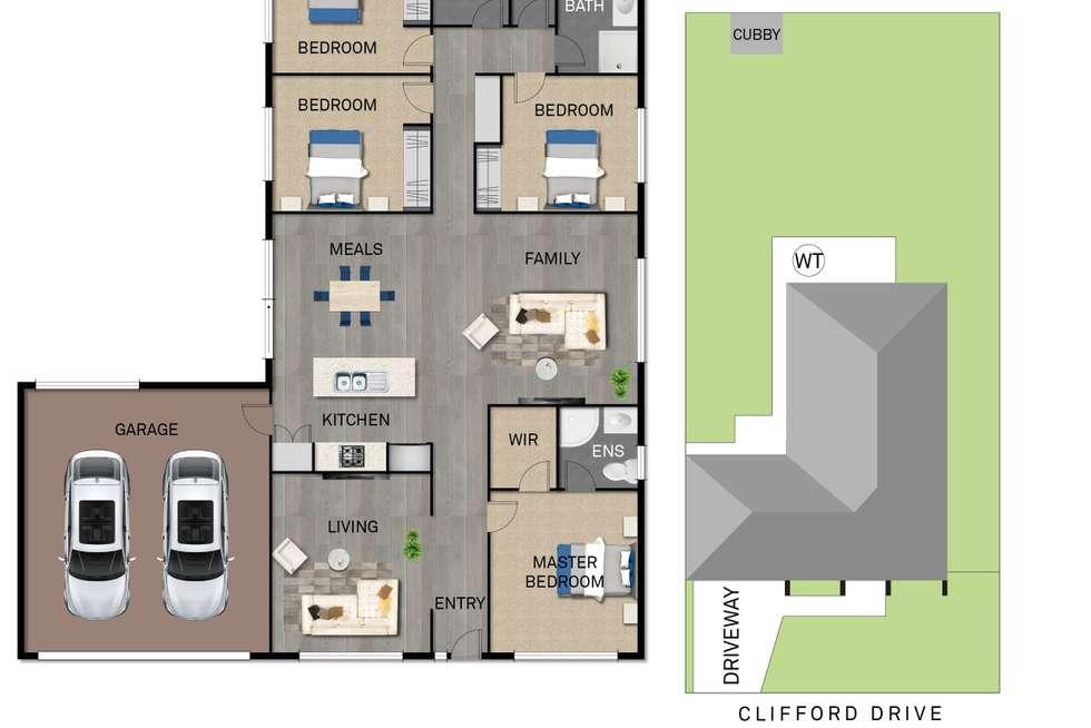 Floorplan of Homely house listing, 29 Clifford Drive, Pakenham VIC 3810