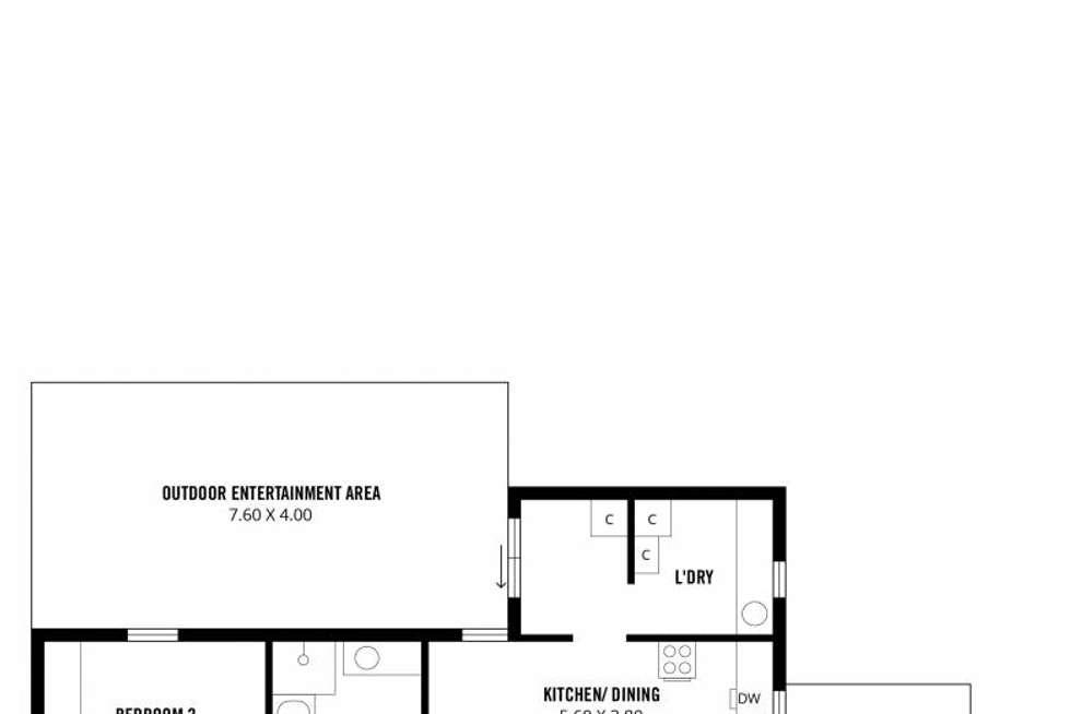 Floorplan of Homely house listing, 4 Rudford Street, Brighton SA 5048