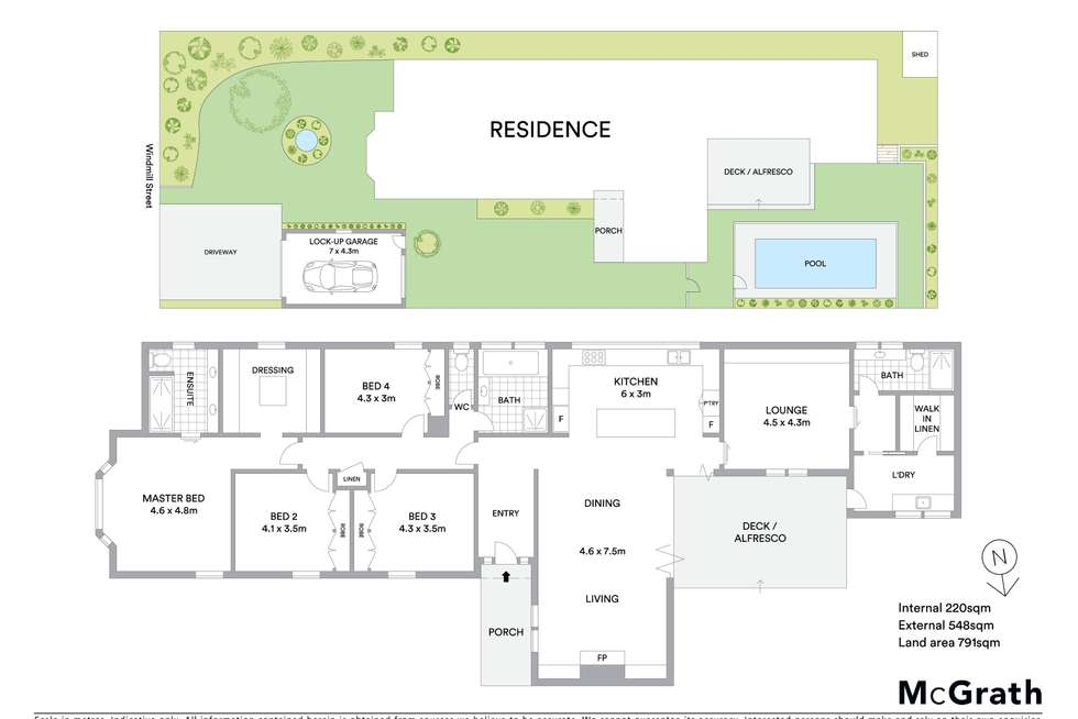 Floorplan of Homely house listing, 4 Windmill Street, Newtown VIC 3220