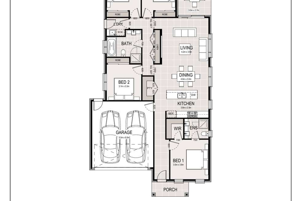 Floorplan of Homely house listing, 1351 Camden Valley Way, Leppington NSW 2179