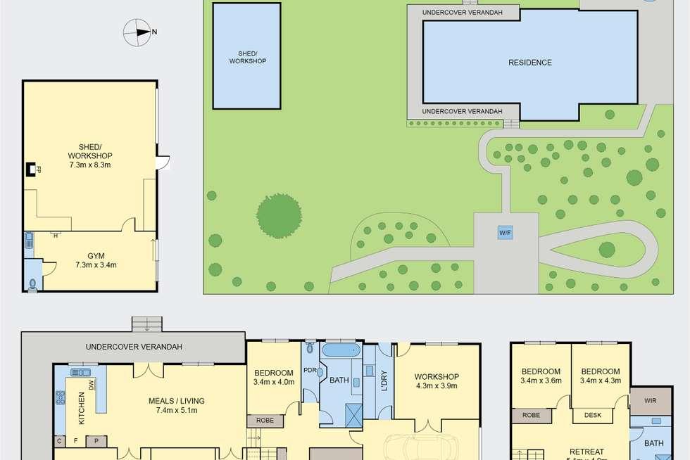 Floorplan of Homely house listing, 1 Church Street, Macedon VIC 3440