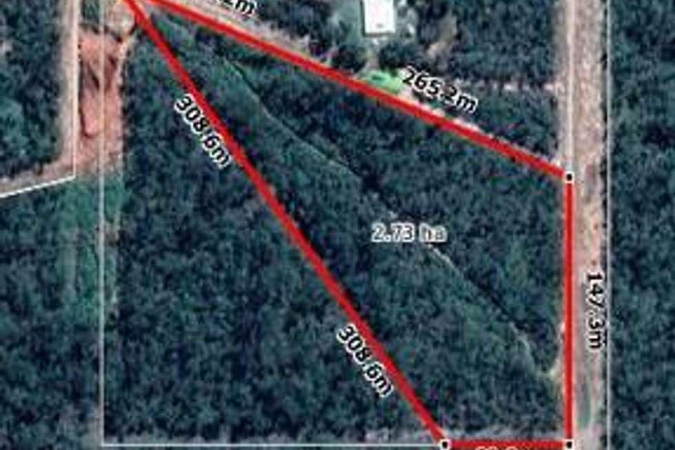 Floorplan of Homely residentialLand listing, Eucalyptus Road, Herbert NT 836