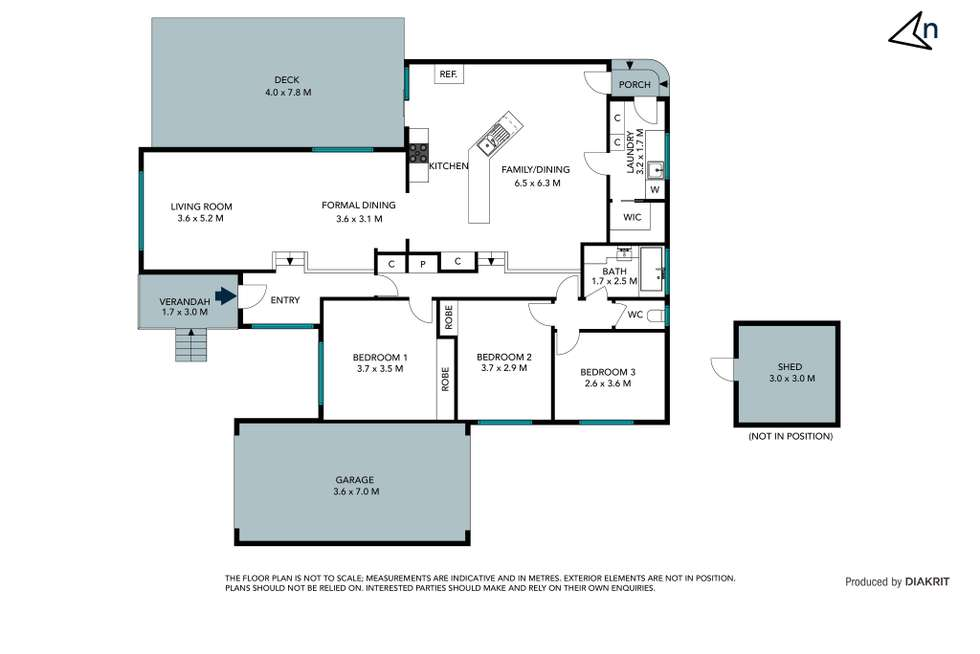 Floorplan of Homely house listing, 13 Touhey Avenue, Epping VIC 3076