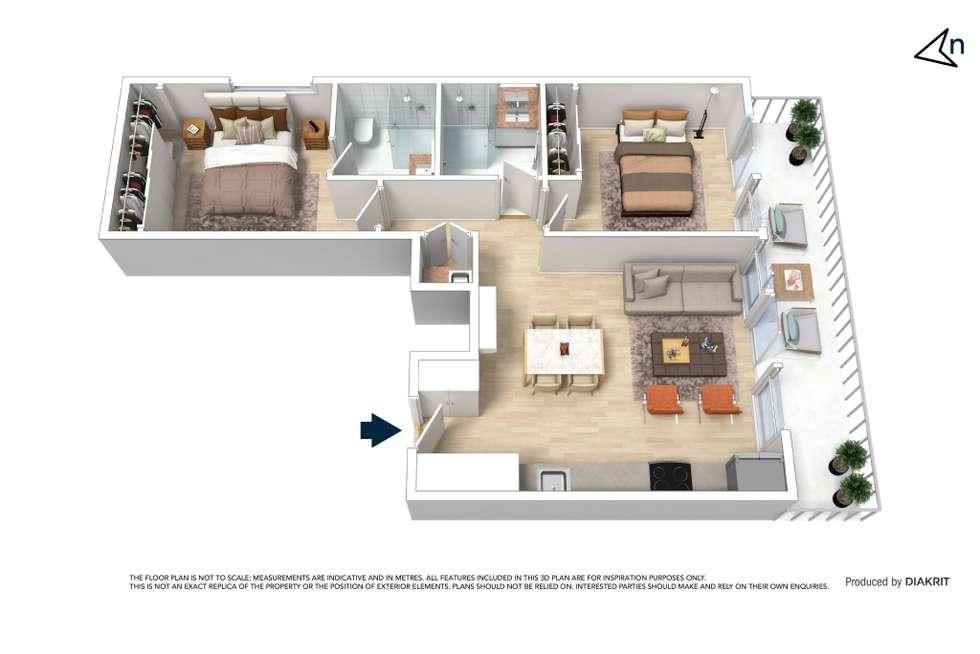 Floorplan of Homely apartment listing, 305/252 Bay Road, Sandringham VIC 3191