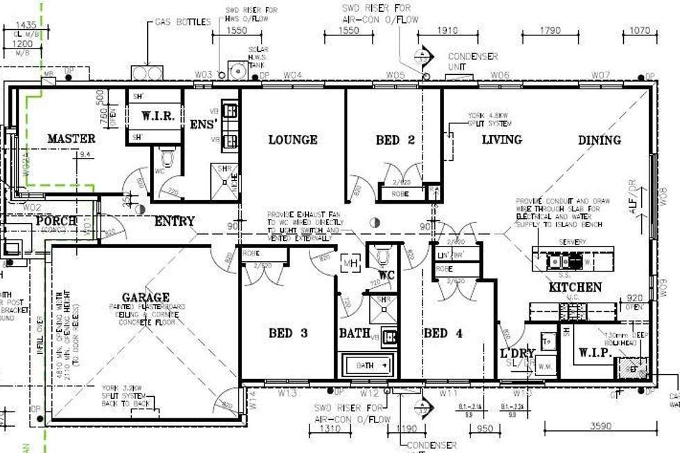 Floorplan of Homely house listing, 4 Kembla Road, Cowes VIC 3922
