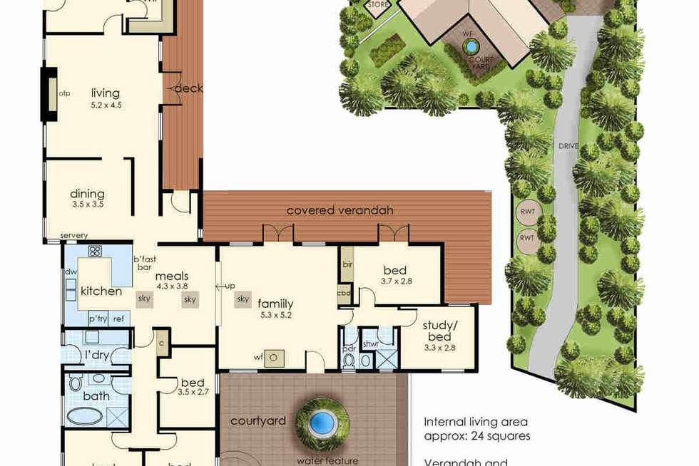 Floorplan of Homely house listing, 2 Heath Road, Mount Eliza VIC 3930