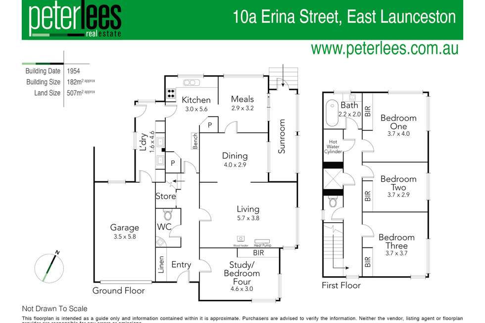 Floorplan of Homely house listing, 10A Erina Street, East Launceston TAS 7250