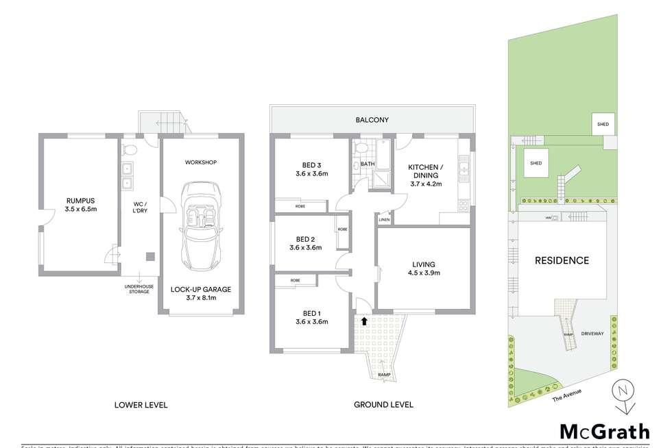 Floorplan of Homely house listing, 45 The Avenue, Mount Saint Thomas NSW 2500