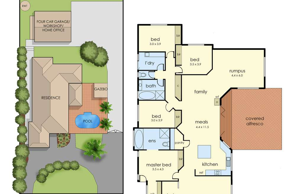 Floorplan of Homely house listing, 19 John Joseph Court, Narre Warren North VIC 3804
