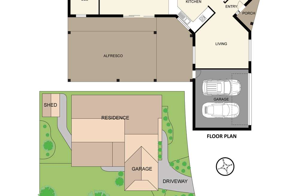 Floorplan of Homely house listing, 3 Eleanore Crescent, Hallam VIC 3803