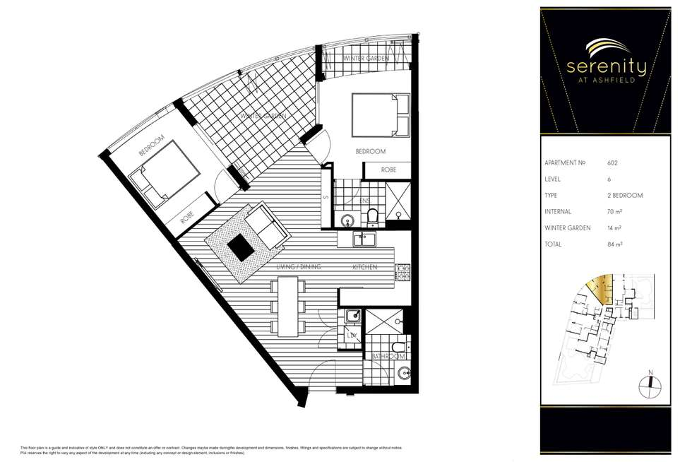 Floorplan of Homely apartment listing, 380-382 Liverpool Road, Ashfield NSW 2131
