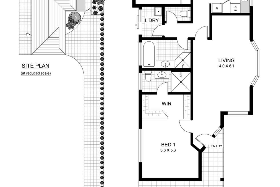 Floorplan of Homely house listing, 36a Earl Street, Hunters Hill NSW 2110