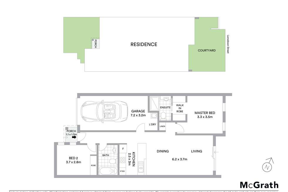 Floorplan of Homely townhouse listing, 4/2 Neil Currie Street, Casey ACT 2913