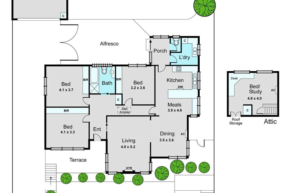 Floorplan of Homely house listing, 12 Normanby Road, Bentleigh East VIC 3165