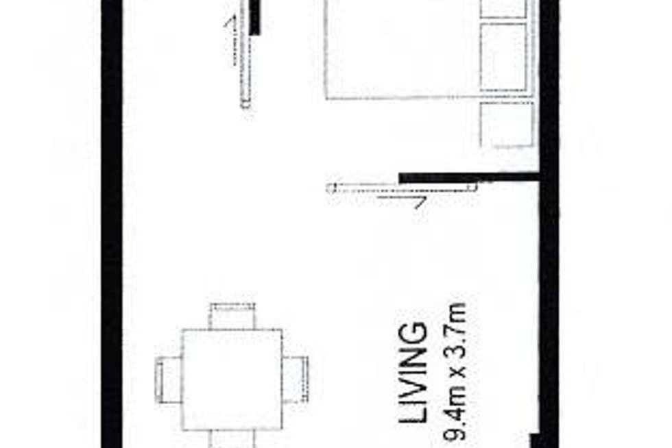 Floorplan of Homely apartment listing, 1502/180 Morphett Street, Adelaide SA 5000