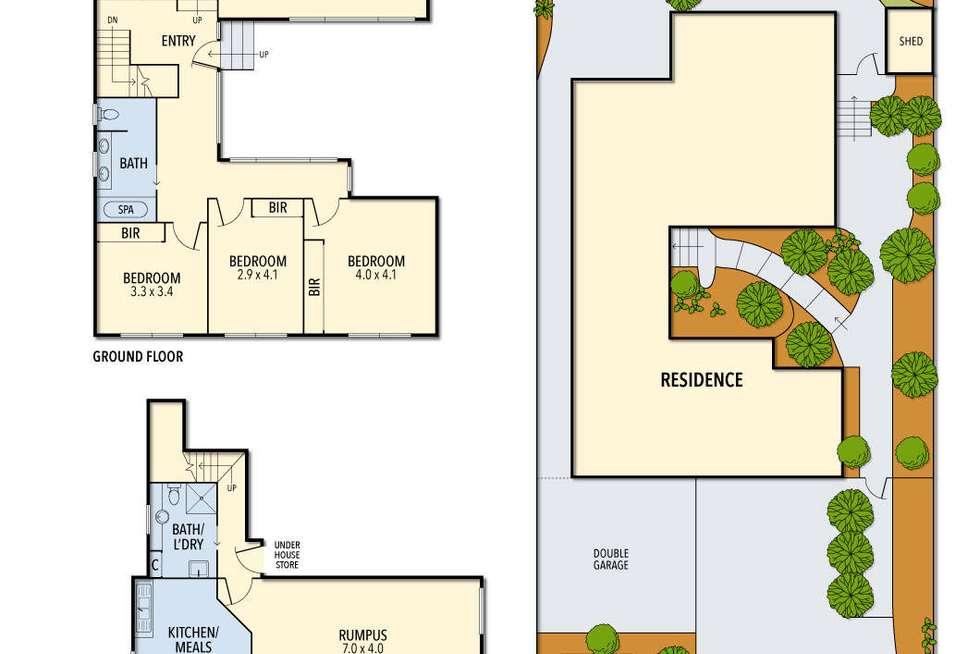 Floorplan of Homely house listing, 155 Tramway Parade, Beaumaris VIC 3193
