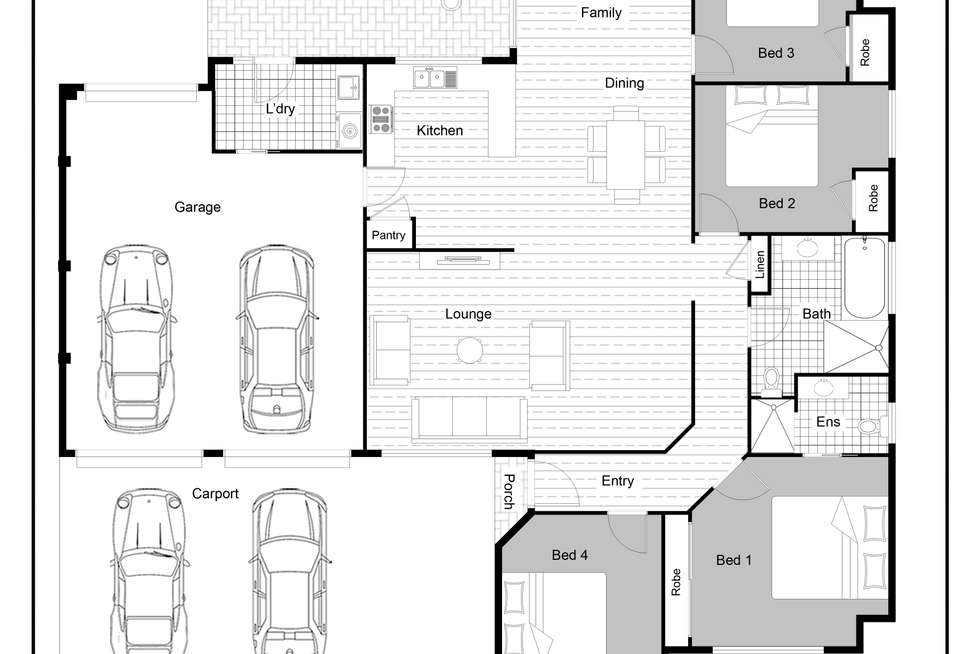 Floorplan of Homely house listing, 16 Moroney Avenue, St Georges Basin NSW 2540
