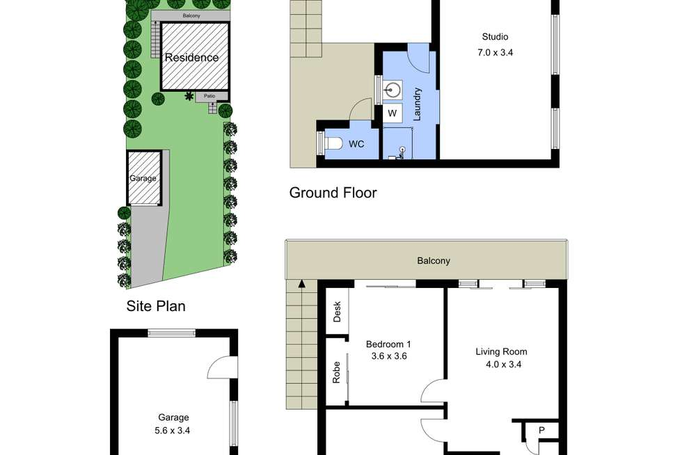 Floorplan of Homely house listing, 47 Panorama Avenue, Charmhaven NSW 2263