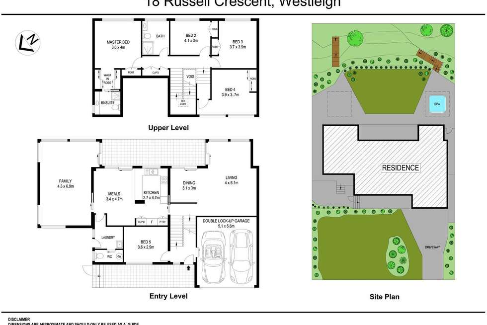 Floorplan of Homely house listing, 18 Russell Crescent, Westleigh NSW 2120
